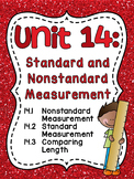 First Grade Math Unit 14 Measurement