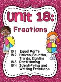 First Grade Math Unit 18 Fractions