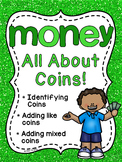 Money Worksheets Games & Activities HUGE Unit (Identifying & Counting Coins)
