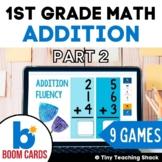 First Grade Math Unit 7: Addition Part 2 (9 games)