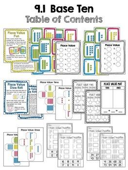 First Grade Math Unit 9 Place Value
