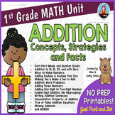 First Grade Math Unit {Addition}