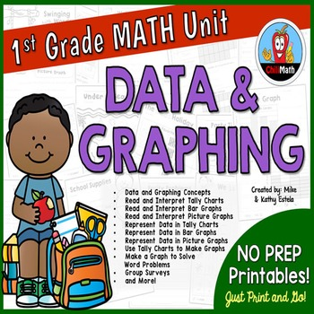 First Grade Math Unit {Data and Graphing}
