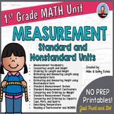 First Grade Math Unit {Measurement}