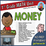 First Grade Math Unit {Money}