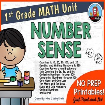 First Grade Math Unit {Number Sense}