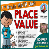 First Grade Math Unit {Place Value}