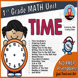 First Grade Math Unit {Time}