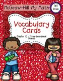 First-Grade Math Vocabulary {My Math Series - Unit 10}{CCSS aligned}