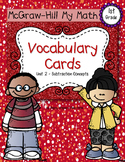 First-Grade Math Vocabulary {My Math Series - Unit 2}{CCSS
