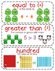 First-Grade Math Vocabulary {My Math Series - Unit 5}{CCSS aligned}