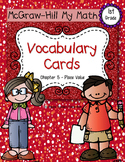 First-Grade Math Vocabulary {My Math Series - Unit 5}{CCSS