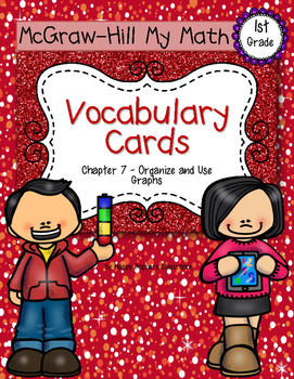 First-Grade Math Vocabulary {My Math Series - Unit 7}{CCSS aligned}