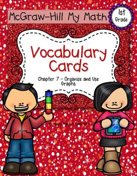 First-Grade Math Vocabulary {My Math Series - Unit 7}{CCSS