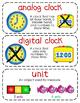 First-Grade Math Vocabulary {My Math Series - Unit 8}{CCSS