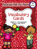 First-Grade Math Vocabulary {My Math Series - Unit 9}{CCSS aligned}