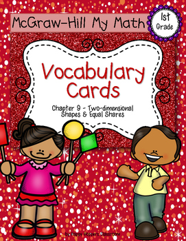 First-Grade Math Vocabulary {My Math Series - Unit 9}{CCSS aligned}