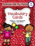 First-Grade Math Vocabulary {My Math Series - Unit 9}{CCSS