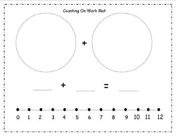 First Grade Math Work Mats