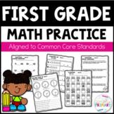 First Grade Math Worksheet Bundle