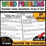First Grade Math Worksheets 1.OA.A.2 STANDARD Practice
