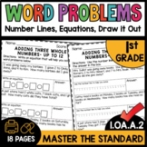 First Grade Math Worksheets 1.OA.A.2 STANDARD Practice