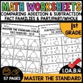 First Grade Math Worksheets 1.OA.B.4 STANDARD Practice