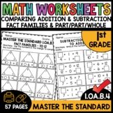 First Grade Math Worksheets 1.OA.B.4 STANDARD Practice