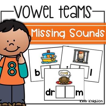 Vowel Team Missing Sound Cards