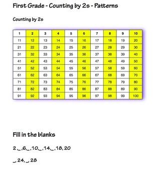 First Grade Math Worksheets - 42 worksheets