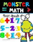 First Grade Math  NO PREP  Monster Theme