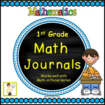 First Grade Math in Focus™ Math Journals All Year