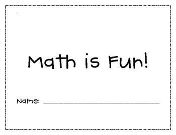"""First Grade """"Math is Fun"""" Math Review"""