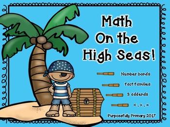 First Grade Math on the High Seas