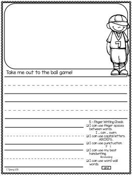 First Grade May Journals