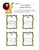 First Grade McGraw Hill Reading Wonders Unit 6 Enrichment Packet