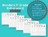 First Grade McGraw-Hill Wonders Reading Roll-a-Word {Unit 2}