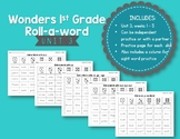 First Grade McGraw-Hill Wonders Reading Roll-a-Word {Unit 3}