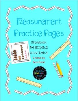 NO PREP First Grade Measurement