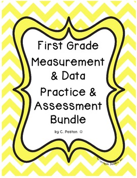 First Grade Measurement & Data Common Core Practice & Assessments