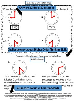 First Grade Measurement & Time Unit Kit