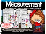 First Grade Go Math  Chapter 9 Measurement Week Long Lesson Plans