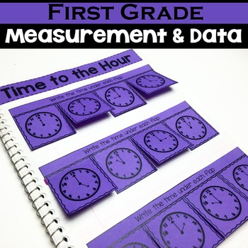 1st Grade Math Notebook:  Measurement