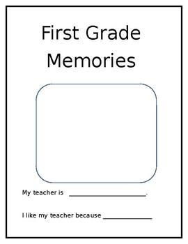 First Grade Memories