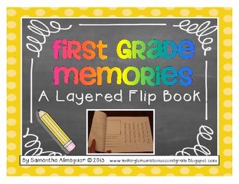 First Grade Memories - A Layered Flip Book!