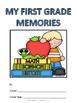 First Grade Memory Album