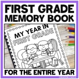 #christmasinjuly21 First Grade Memory Book