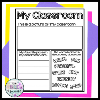 First Grade Memory Book  | Distance Learning