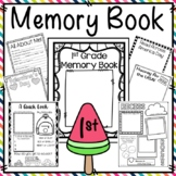 First Grade Memory Book {End of the Year Portfolio for 1st Grade}
