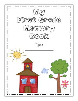First Grade Memory Book (Full Page)